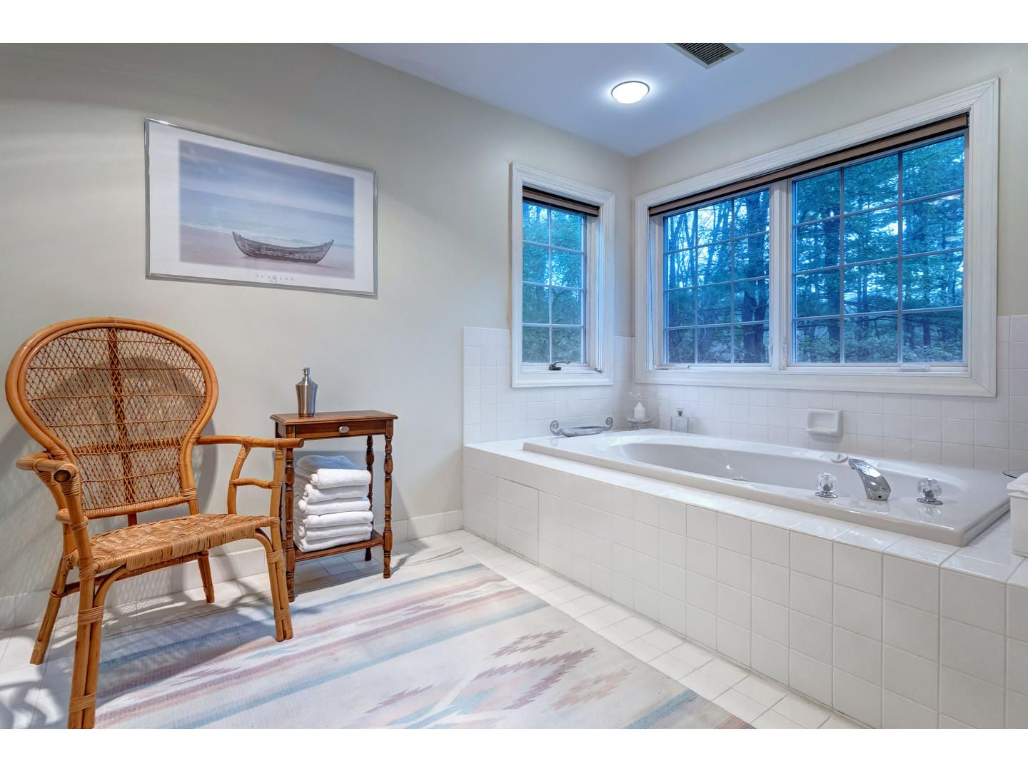 Soaking tub installation in Buckingham, PA from Interior Trend