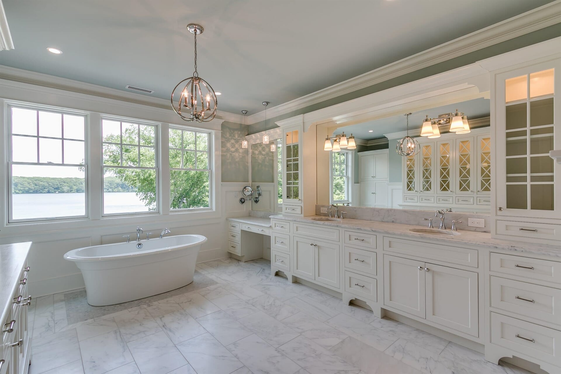 Large bathroom remodel in Doylestown, PA from Interior Trend
