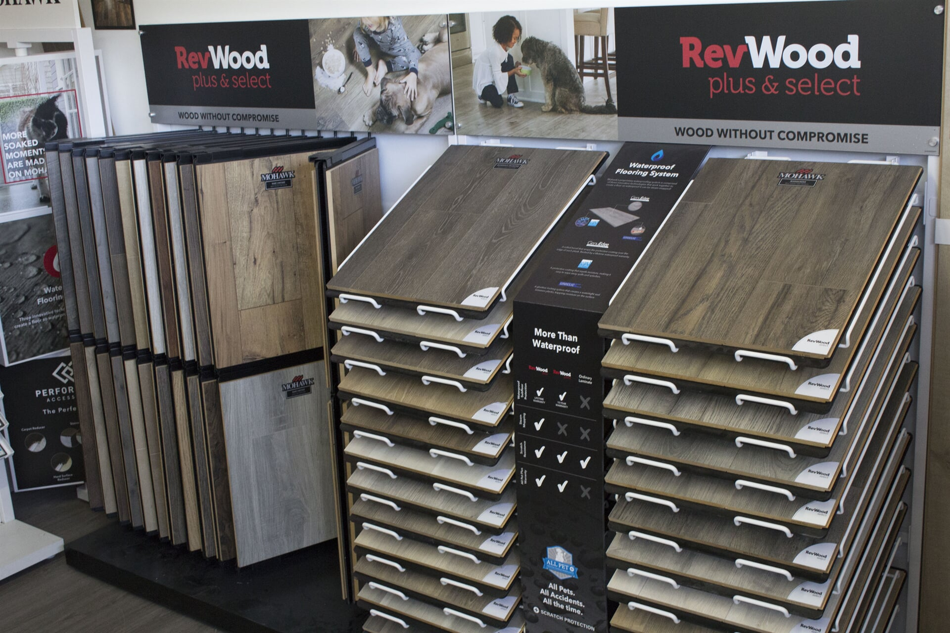 Revwood laminate flooring for your Clarington, ON home from Decorama Flooring Bowmanville