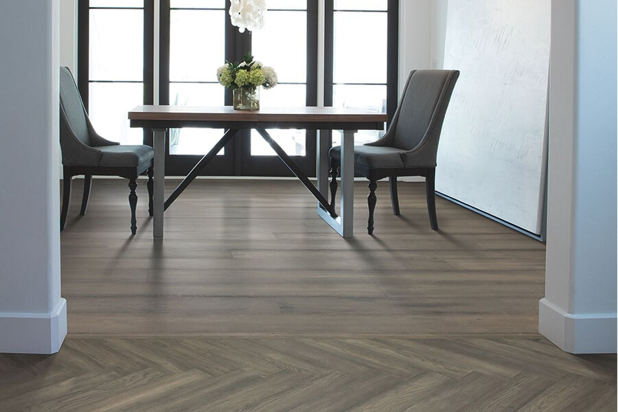Contemporary wood flooring in Easton, MA from Paramount Rug Company