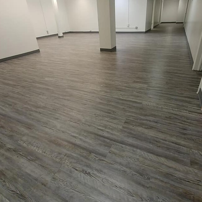 Wood look commercial flooring in Blackfoot, ID from Pocatello Flooring