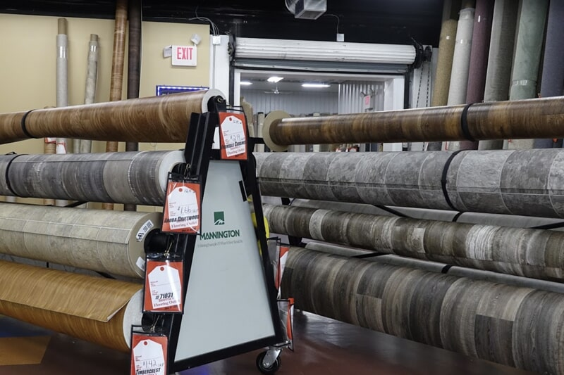 Vinyl in Rome, NY from the Inserra's Flooring Outlet showroom