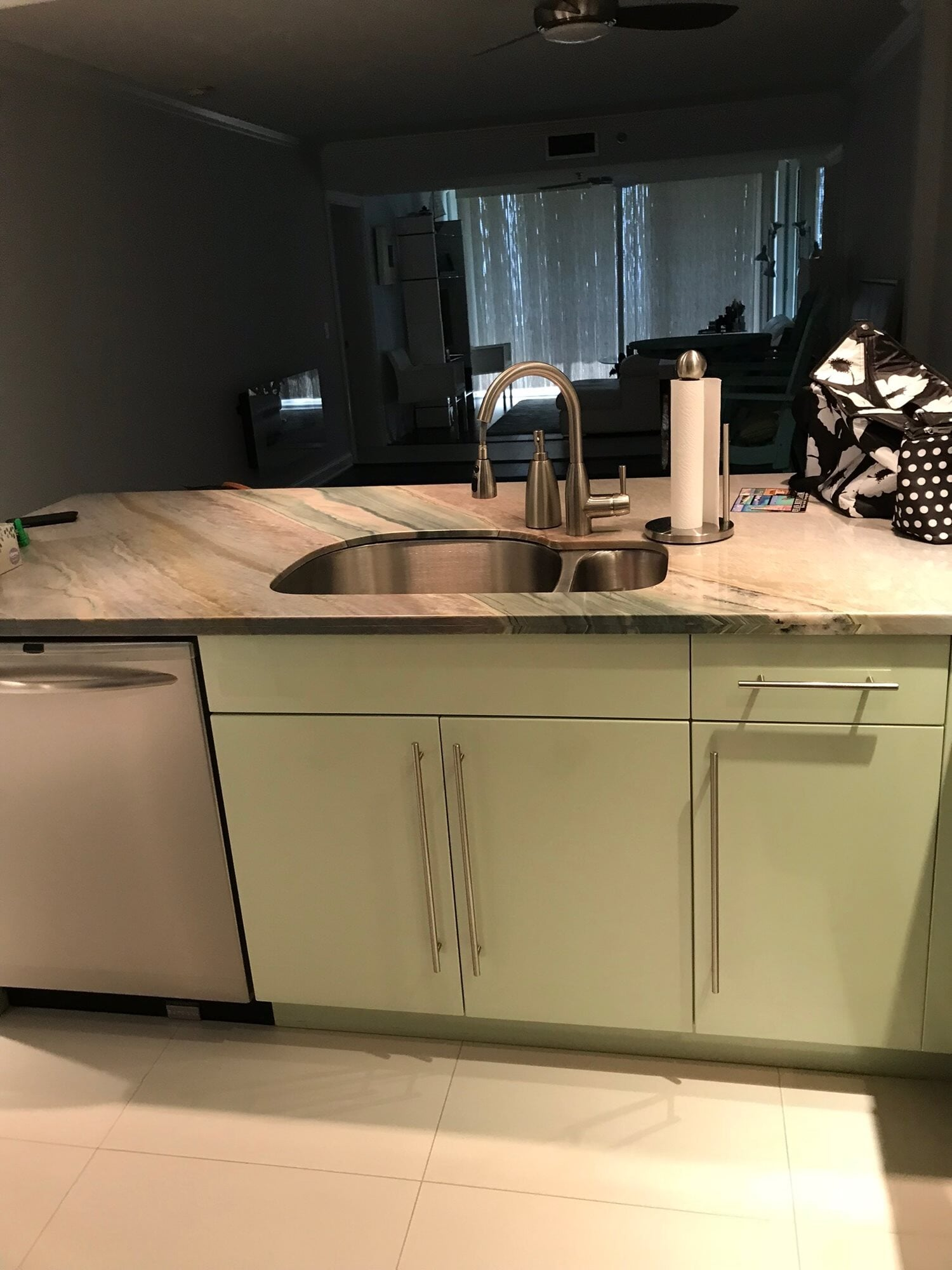Beautiful stone countertop in Hobe Sound, FL from Floors For You Kitchen & Bath