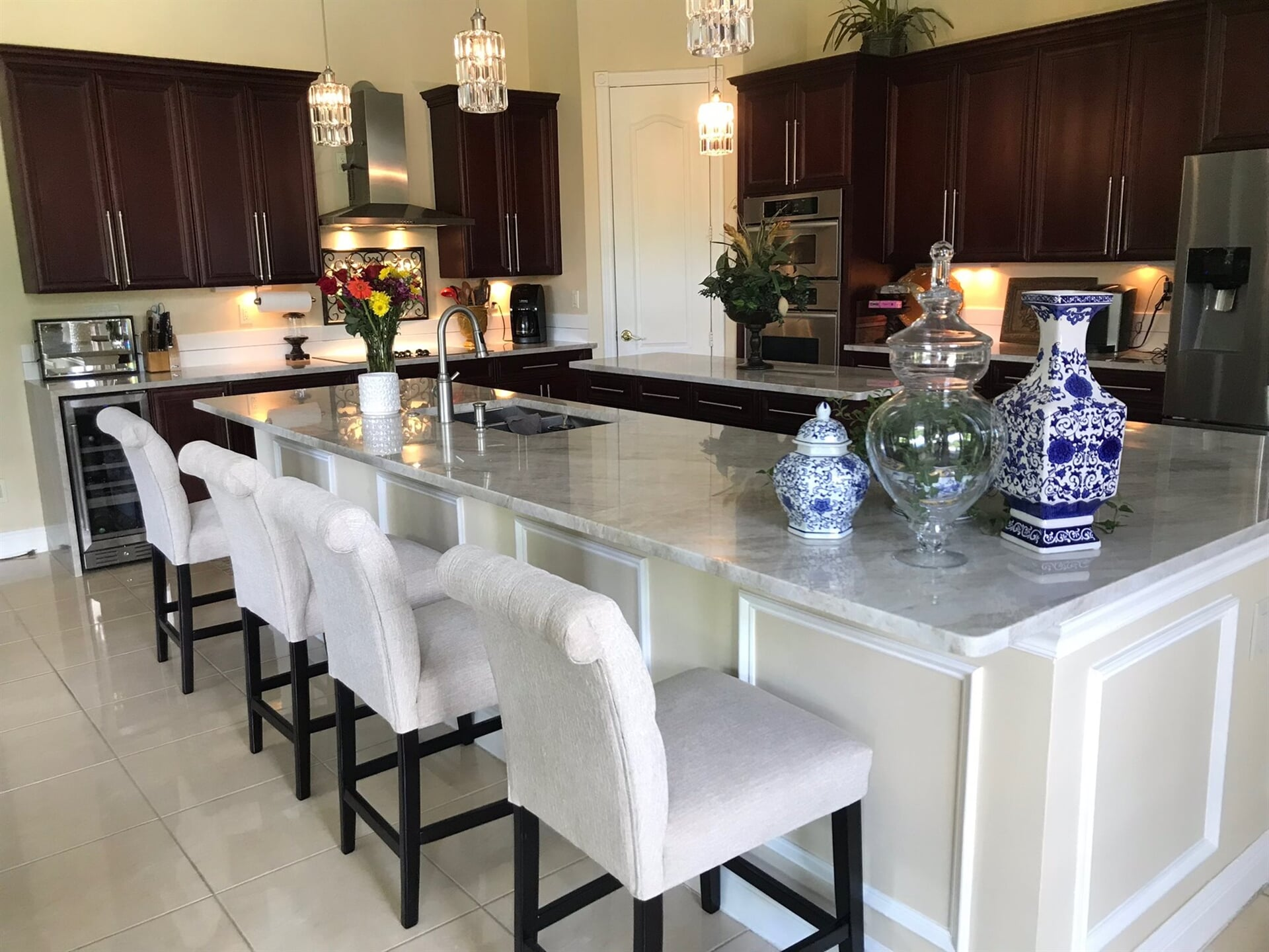 Large chefs kitchen in West Palm Beach, FL from Floors For You Kitchen & Bath