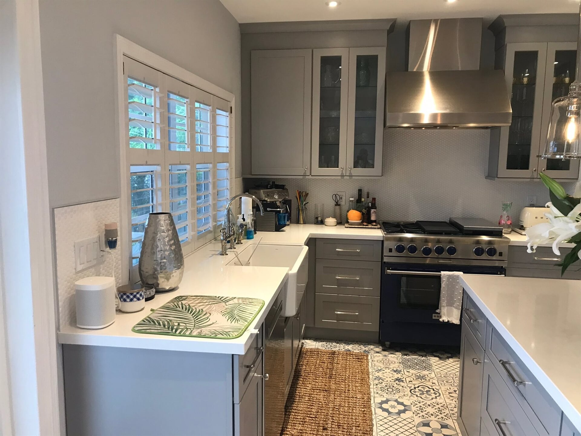Grey cabinetry in Juno Beach, FL from Floors For You Kitchen & Bath