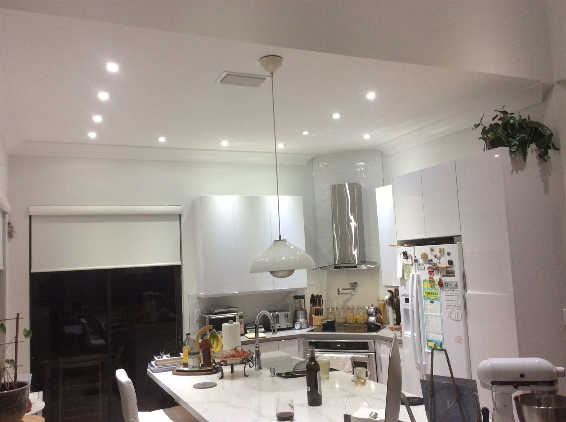 Custom kitchen lighting in Jupiter, FL from Floors For You Kitchen & Bath