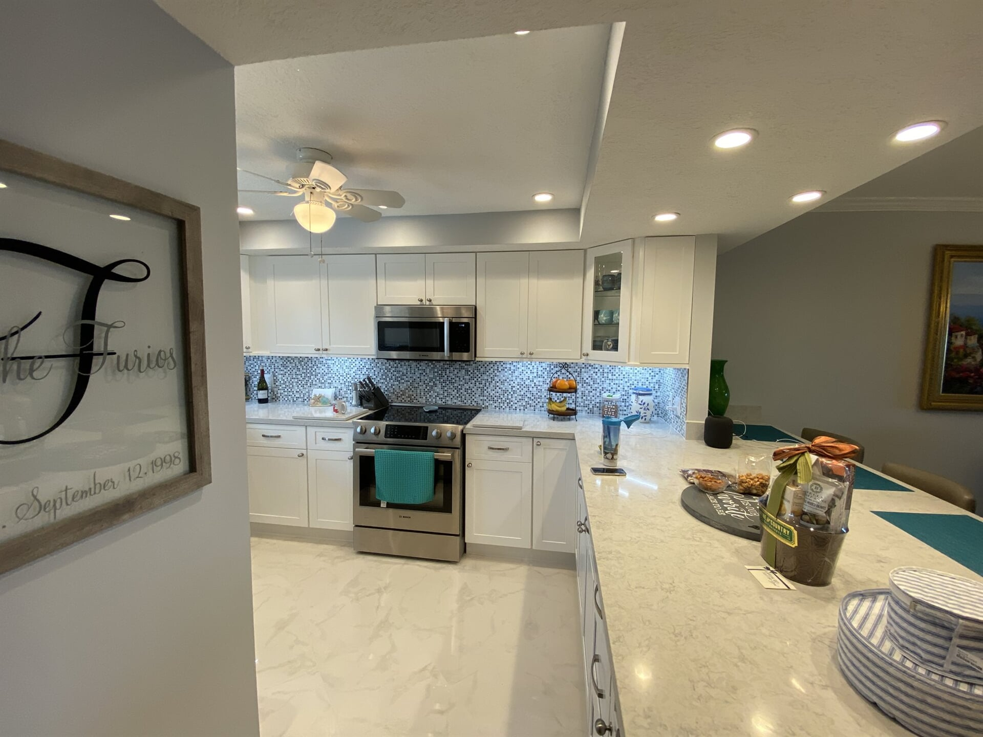 Kitchen remodel in Jupiter, FL from Floors For You Kitchen & Bath