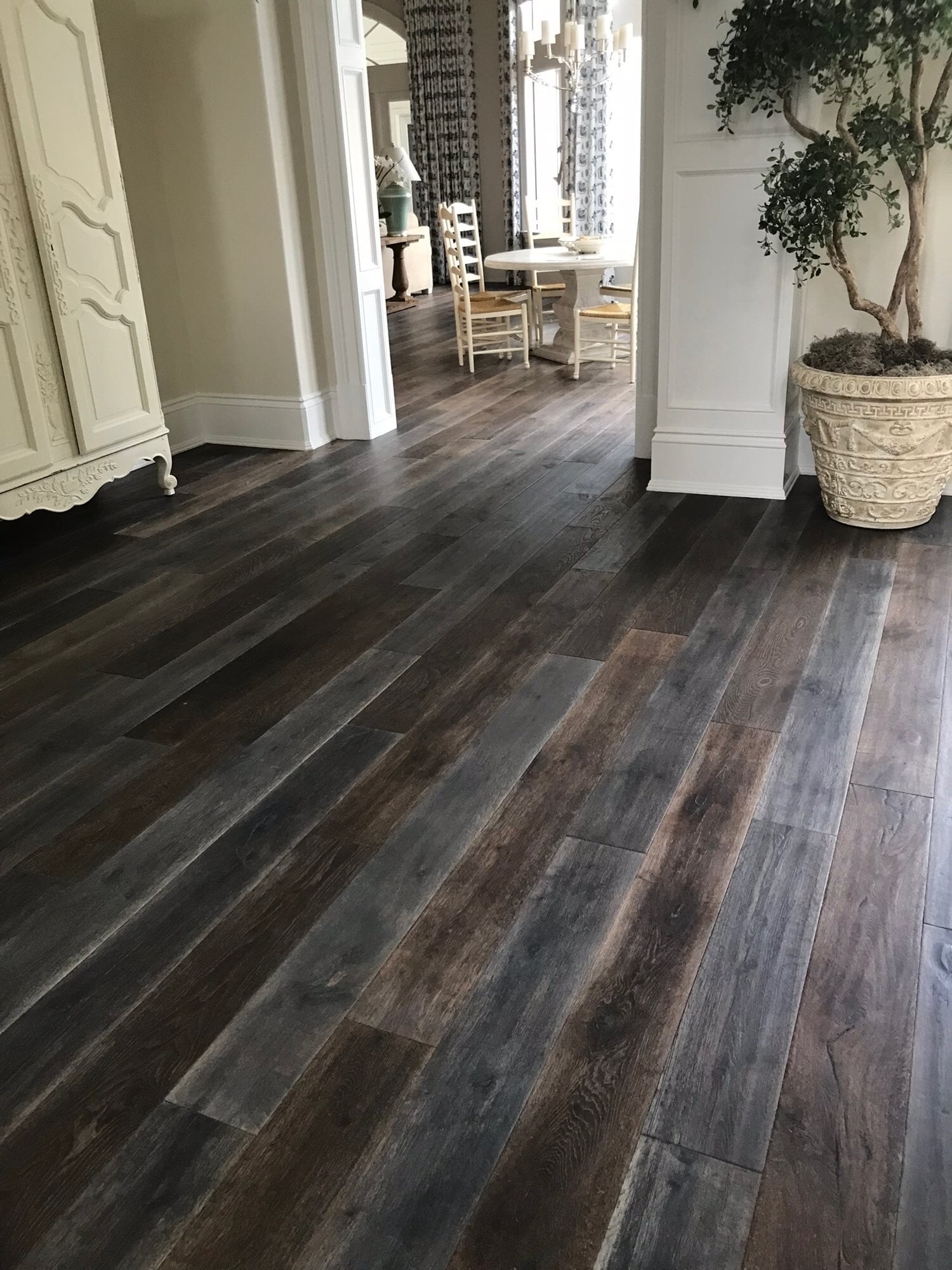 Multicolor wood look flooring in Jupiter, FL from Floors For You Kitchen & Bath