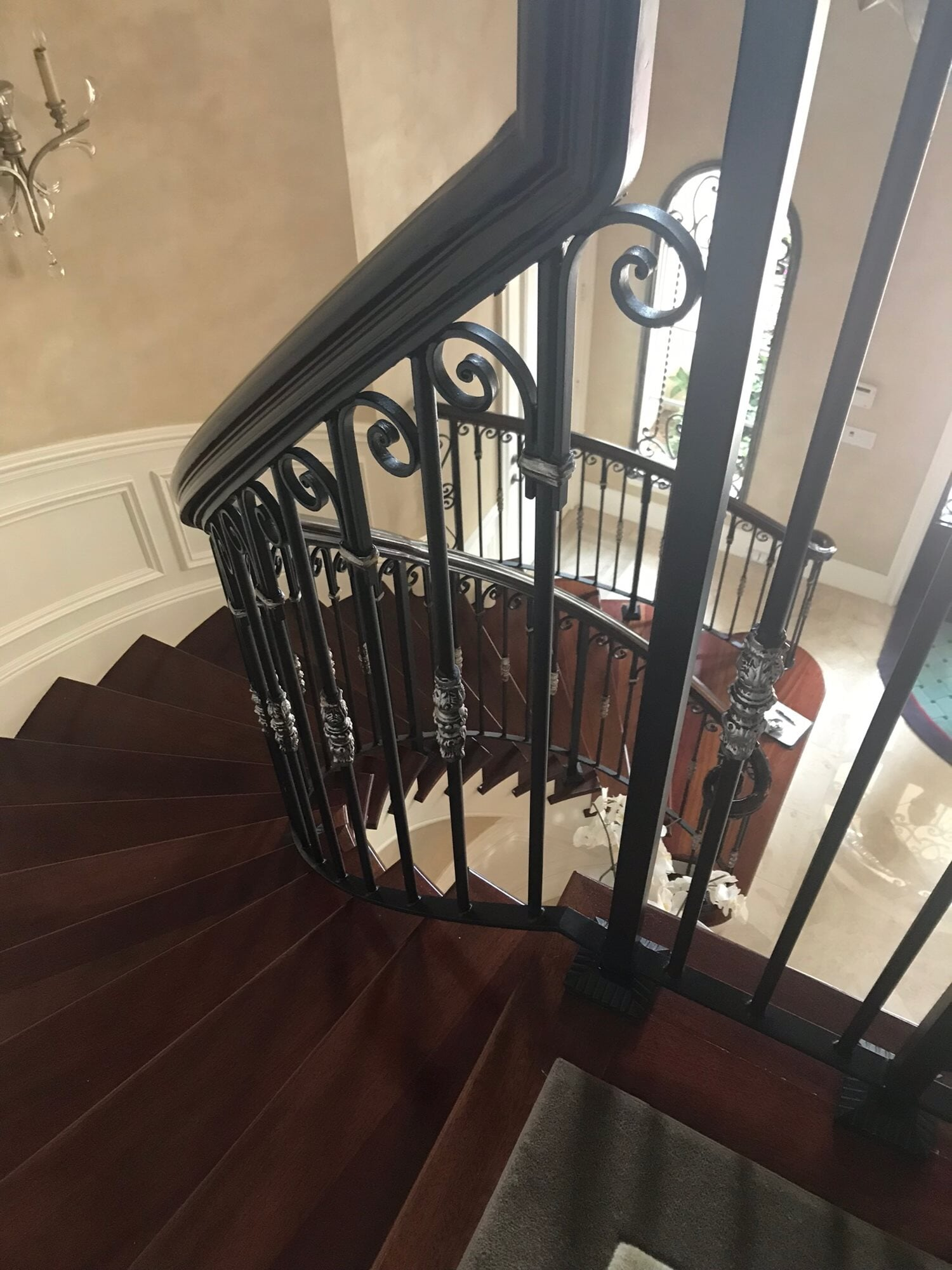 Spiral staircase in Juno Beach, FL from Floors For You Kitchen & Bath