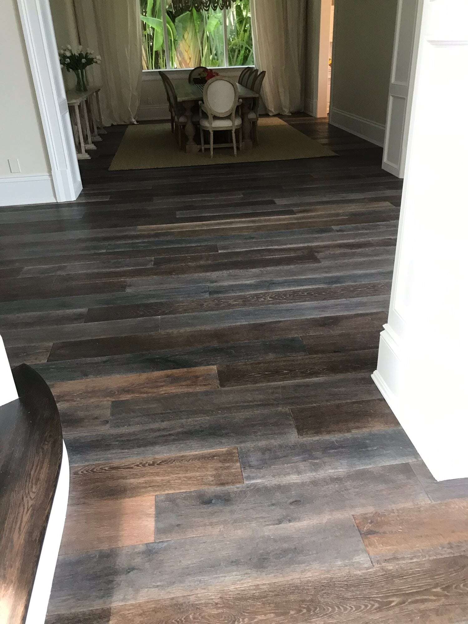 Multi color wood flooring in Palm Beach Gardens, FL from Floors For You Kitchen & Bath