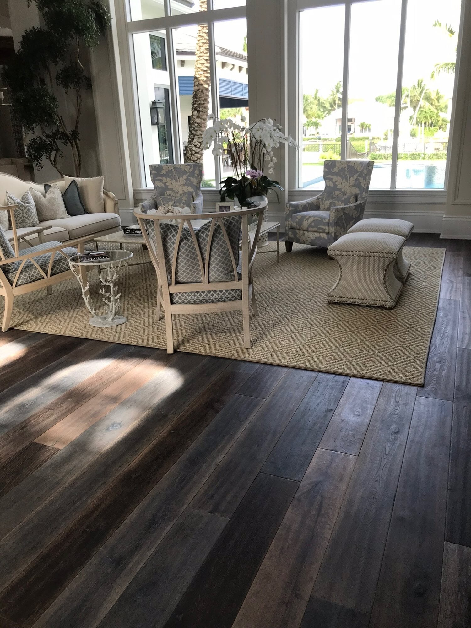 Rustic wood flooring in Jupiter, FL from Floors For You Kitchen & Bath