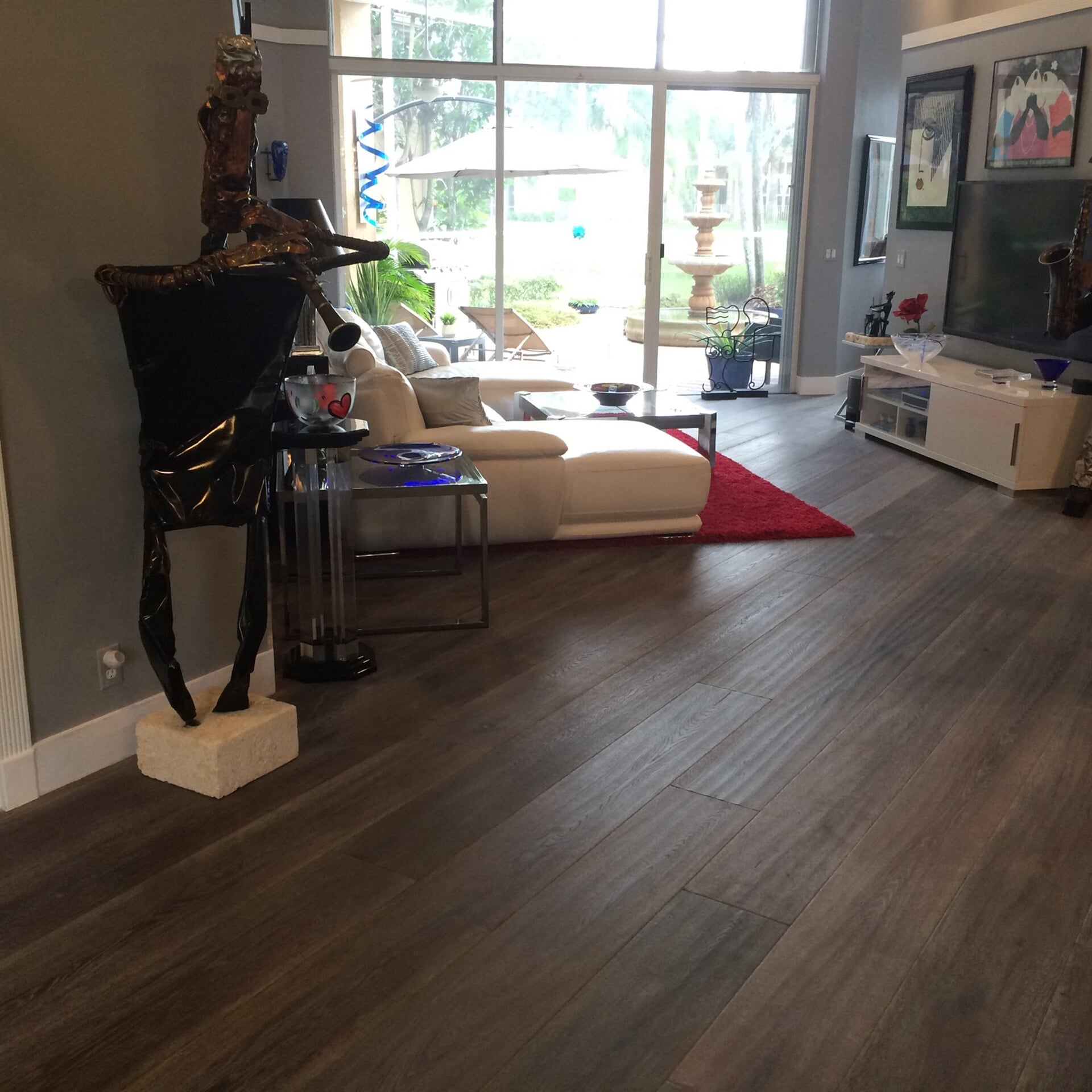 Textured wood flooring in Jupiter, FL from Floors For You Kitchen & Bath