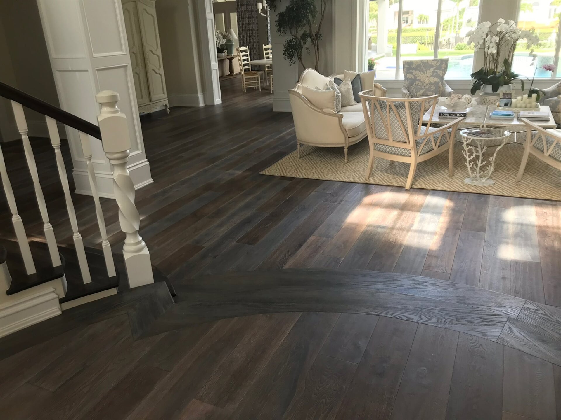 Custom flooring installation in West Palm Beach, FL from Floors For You Kitchen & Bath