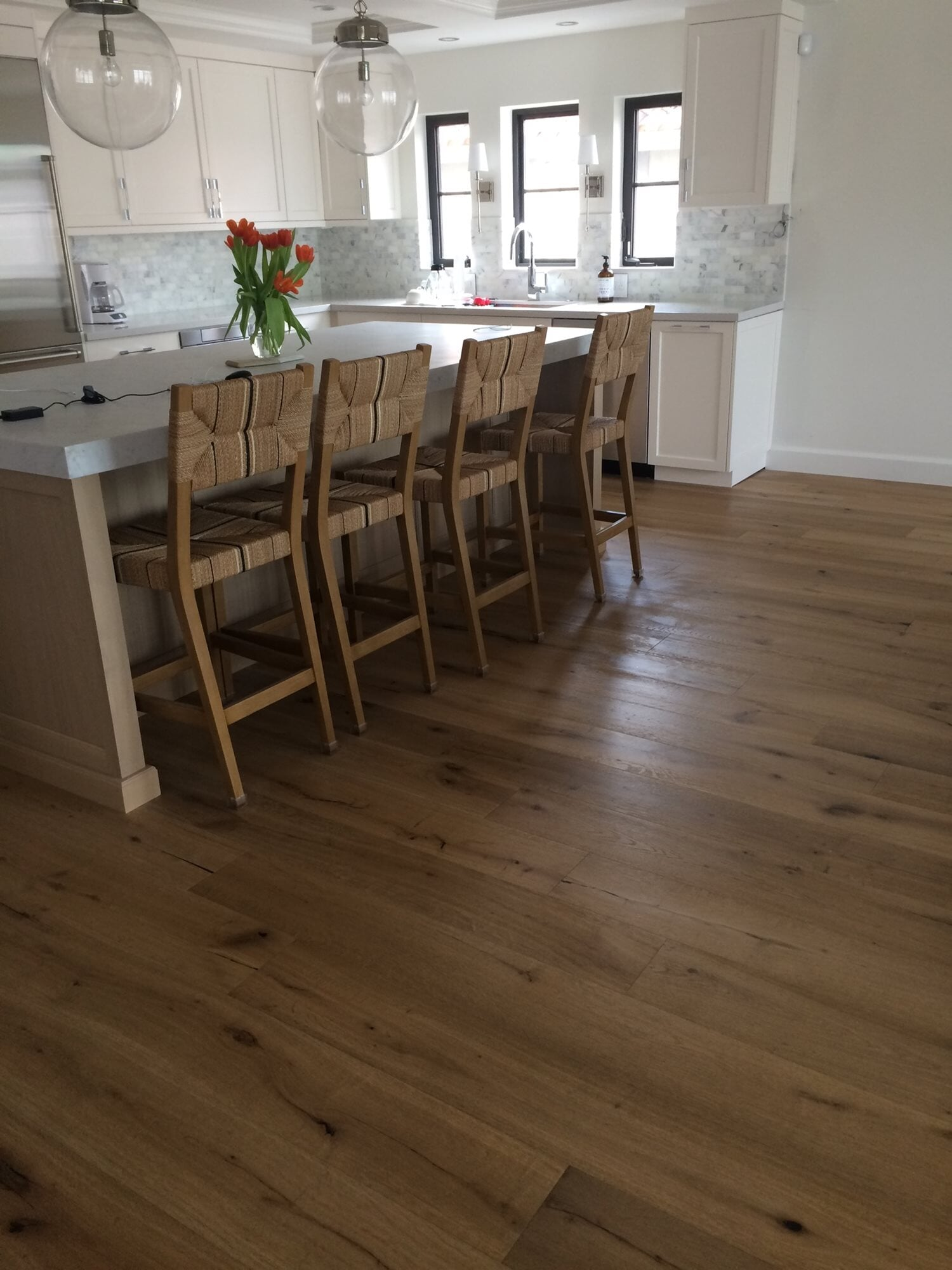 Wood look kitchen flooring in Jupiter, FL from Floors For You Kitchen & Bath