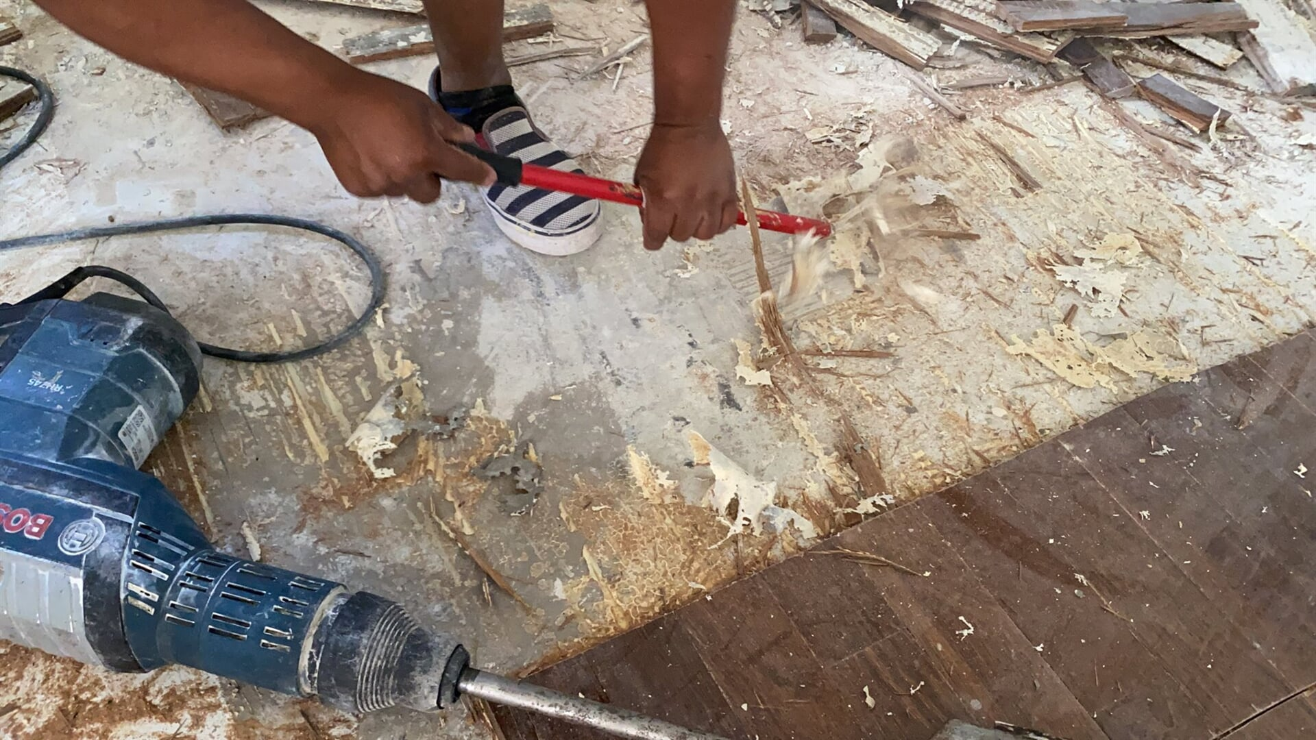 Subfloor cleaning in Juno Beach, FL from Floors For You Kitchen & Bath