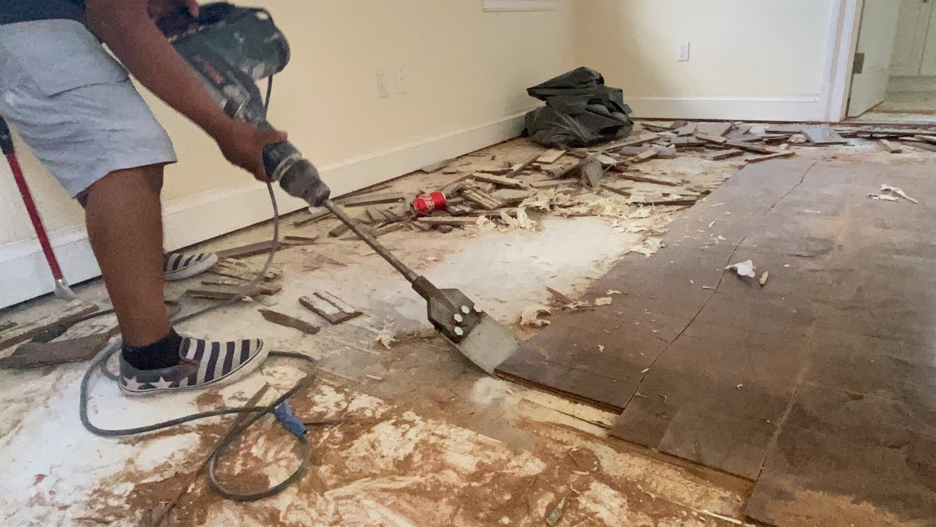 Flooring removal in Juno Beach, FL from Floors For You Kitchen & Bath