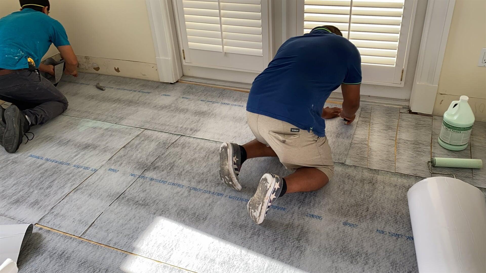Subfloor preparation in West Palm Beach, FL from Floors For You Kitchen & Bath