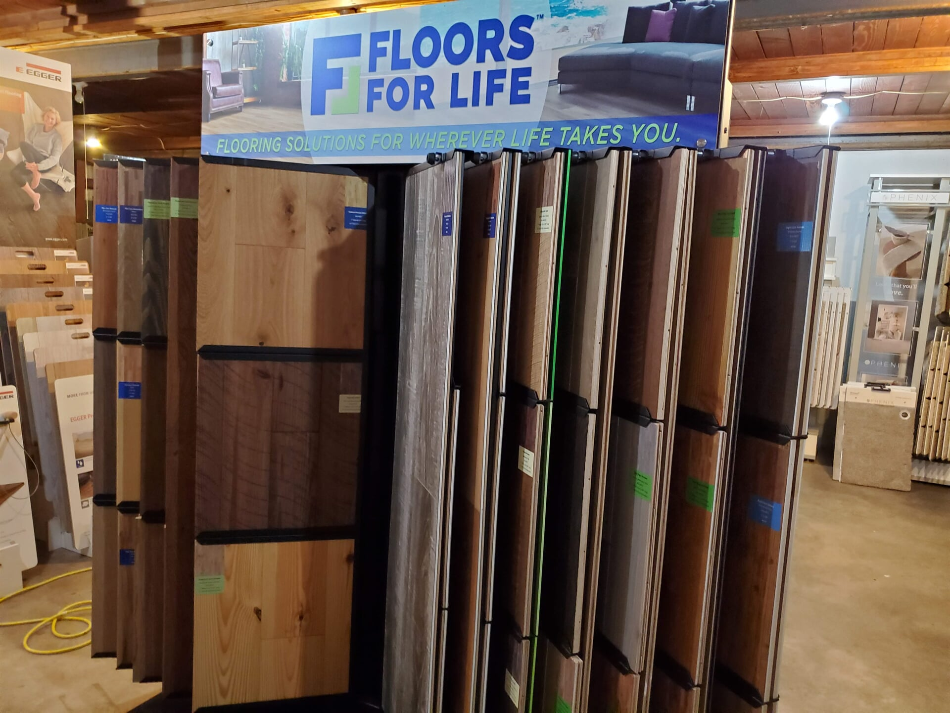 Floors For Life Wood & LVP Display
