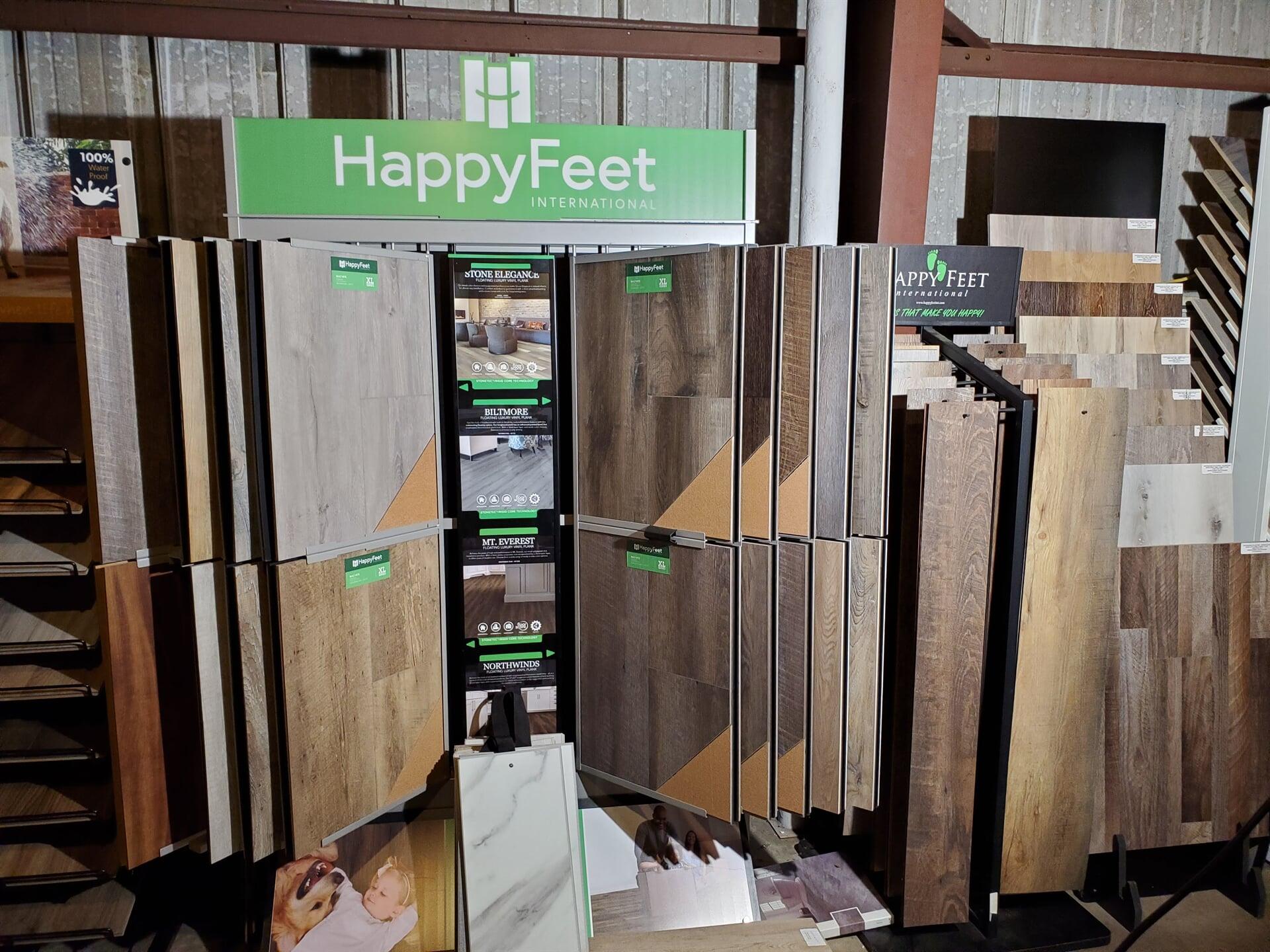 Happy Feet Displays
