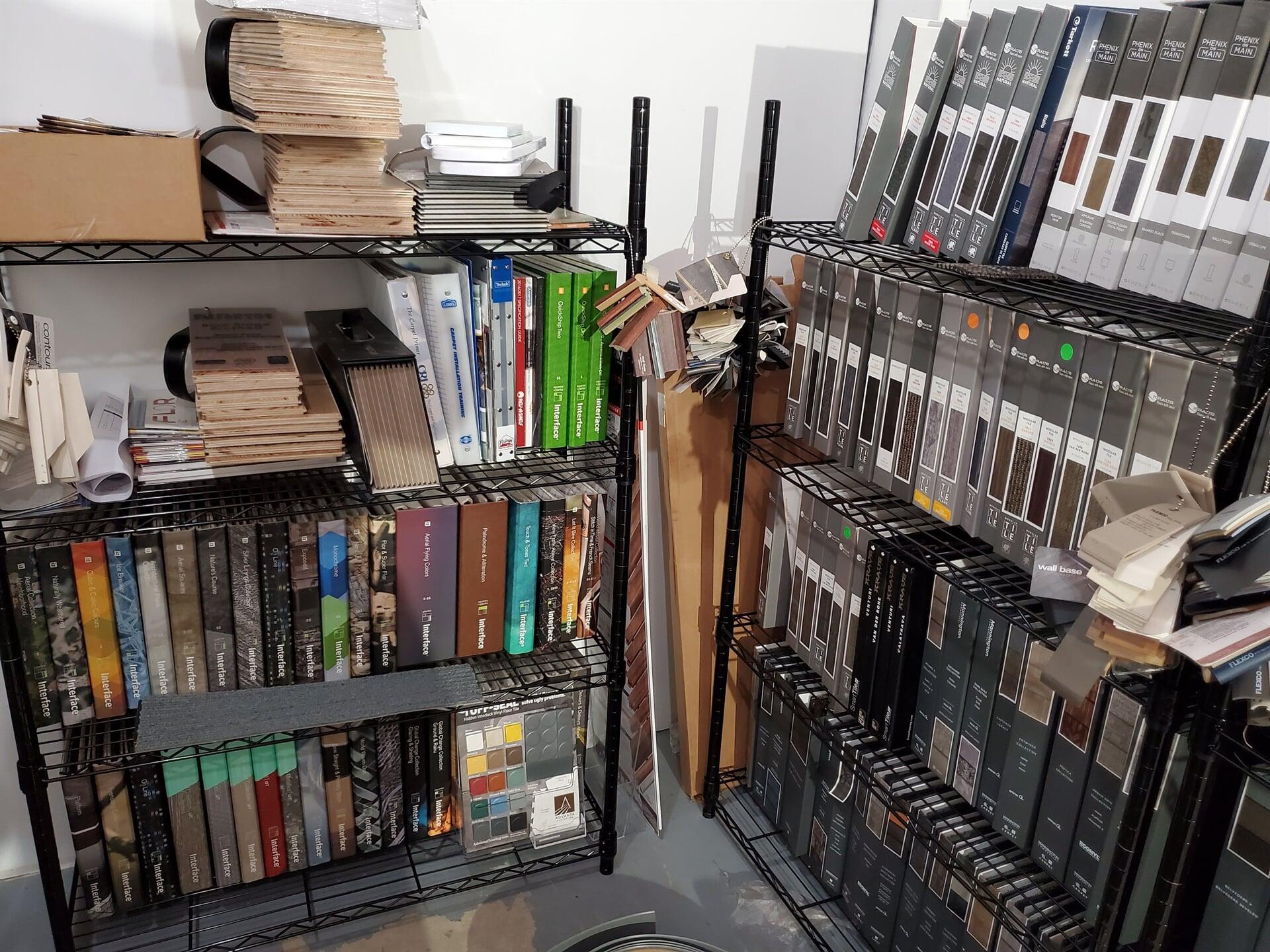 Interface Carpet Tile Books