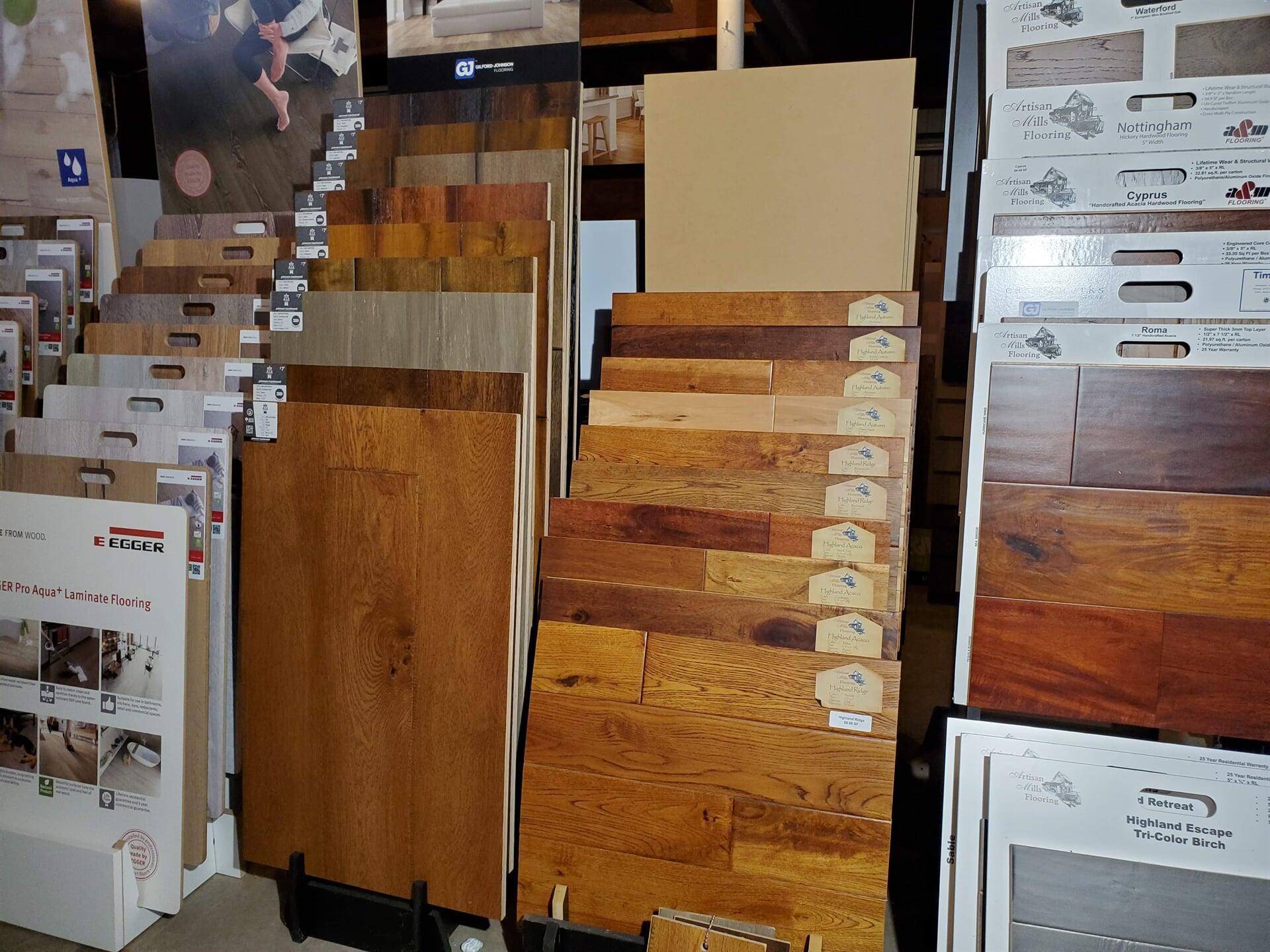 Johnson Hardwood Ale House & Artisan Mills Solid Wood Flooring