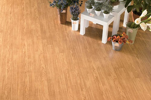 Modern vinyl flooring in Iowa from Hiller Stores
