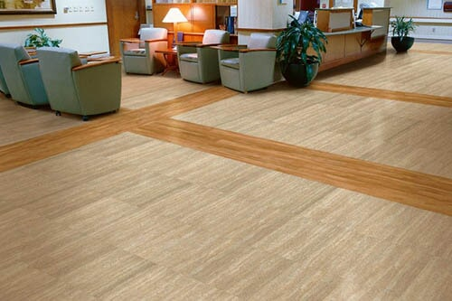 Luxury vinyl tile (LVT) flooring in North Dakota from Hiller Stores
