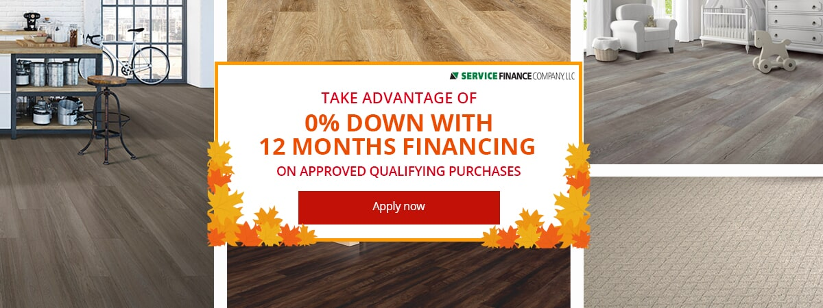 Financing available from Weaver's Carpet & Tile