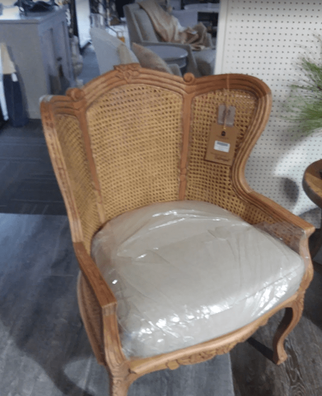 Woven chair in Metter, GA from The Warehouse