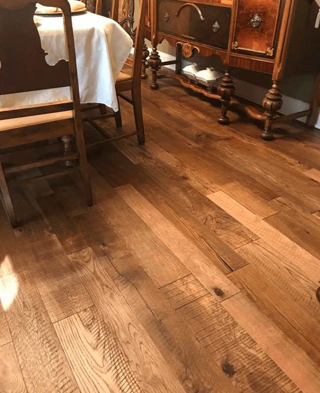 Natural hardwood floors in Sylvania, GA from The Warehouse