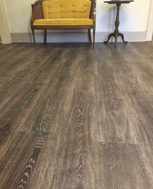 Modern wood look floors in Statesboro, GA from The Warehouse