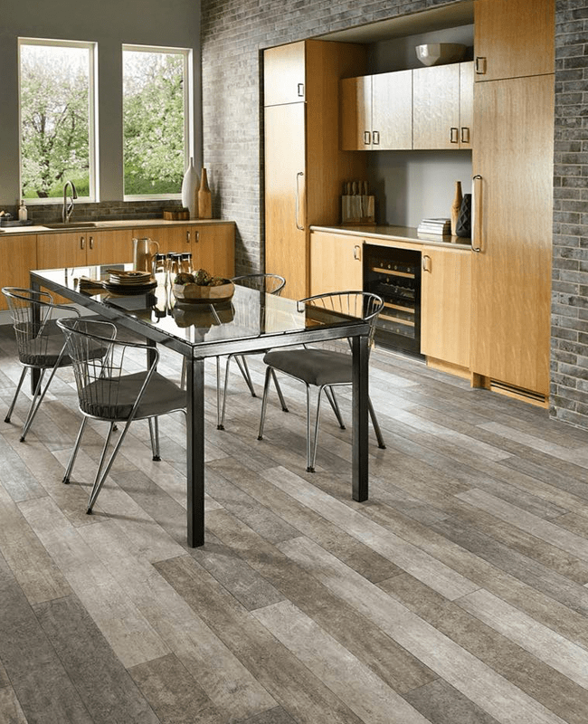 Grey kitchen flooring in Sylvania, GA from The Warehouse