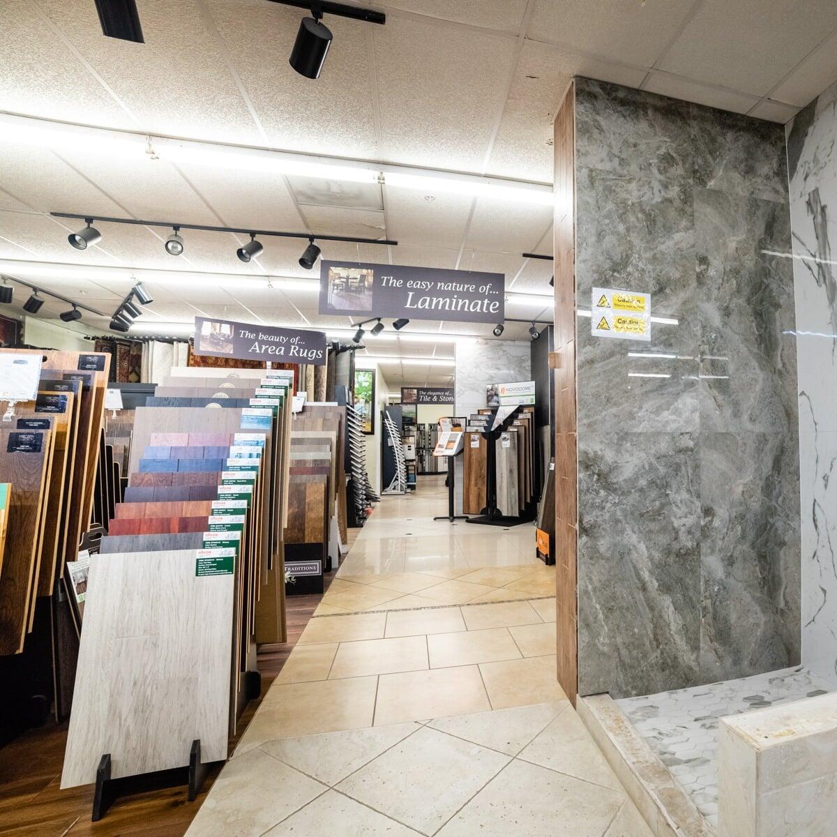 Laminate in Rosenberg, TX from the Colony Flooring & Design Inc showroom
