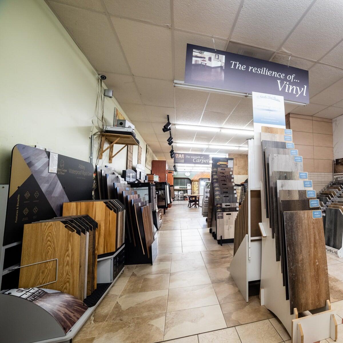 Vinyl flooring in Richmond, TX from the Colony Flooring & Design Inc showroom