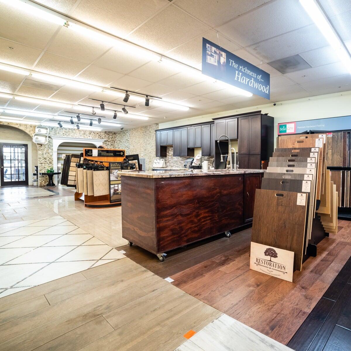 Hardwood in Katy, TX from the Colony Flooring & Design Inc showroom