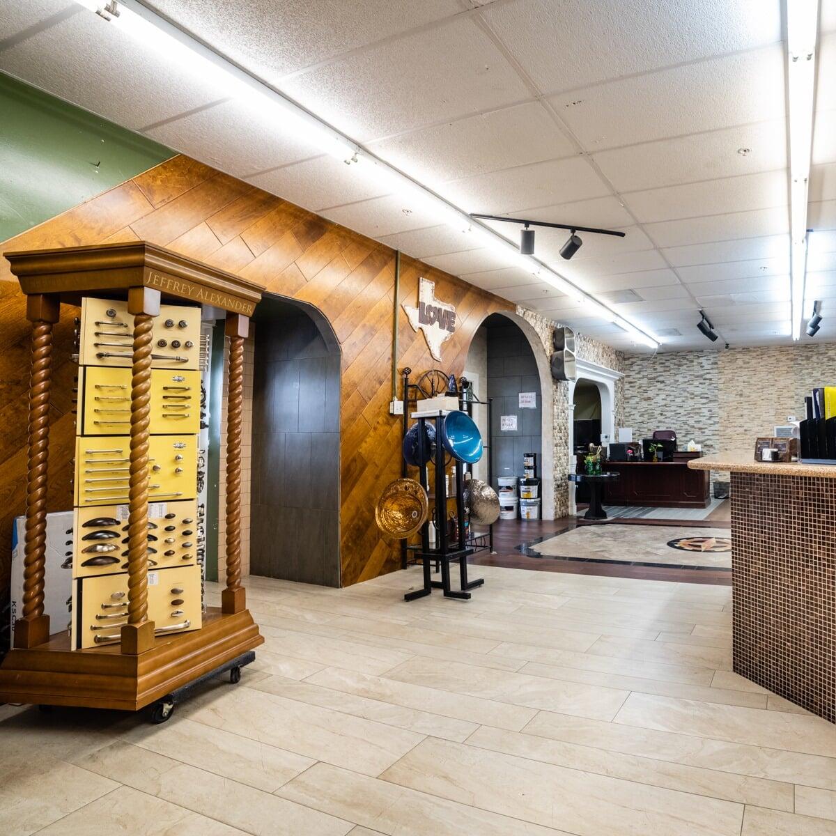Colony Flooring & Design Inc showroom near Houston, TX