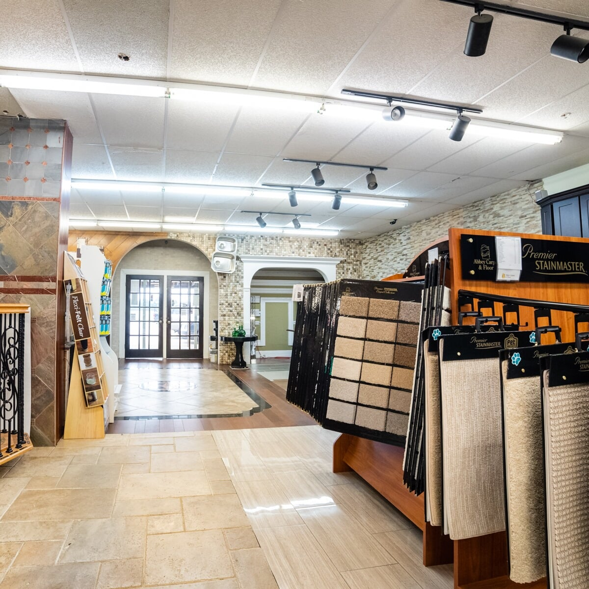Carpet floor in Sugar Land, TX from the Colony Flooring & Design Inc showroom
