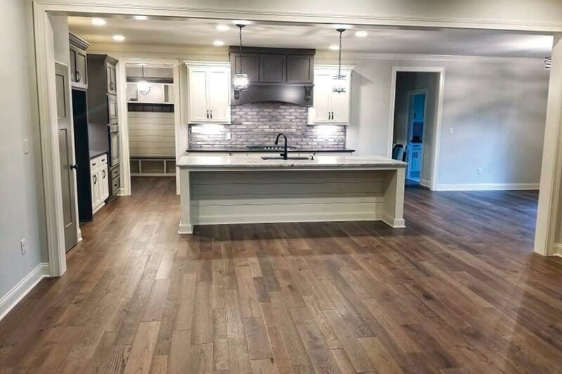 Wood look kitchen flooring in Smiths Grove, KY from Shop at Home Carpets