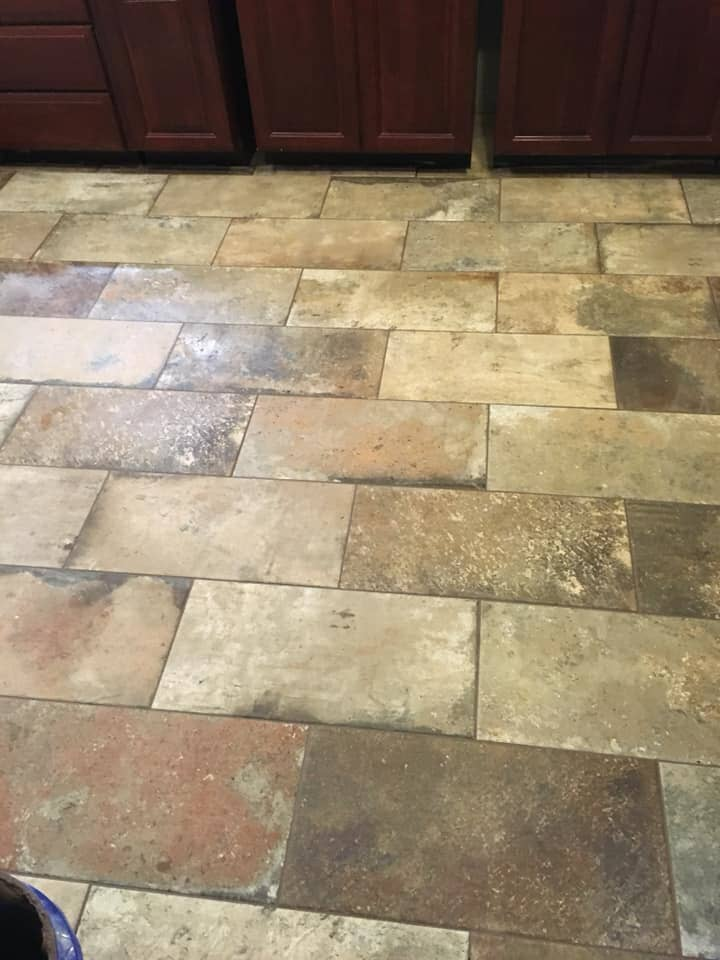 Rustic tile flooring in Scottsboro, AL from R&D Flooring