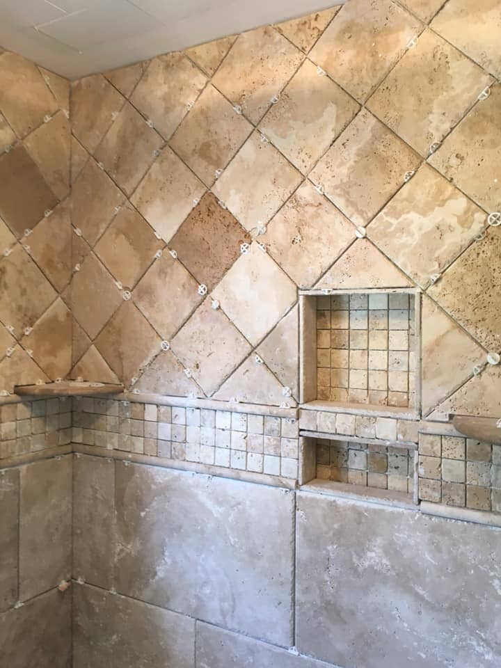 Tile shower installation in Gadsden, AL from R&D Flooring