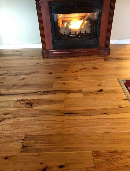 Rustic hardwood flooring in Henagar, AL from R&D Flooring