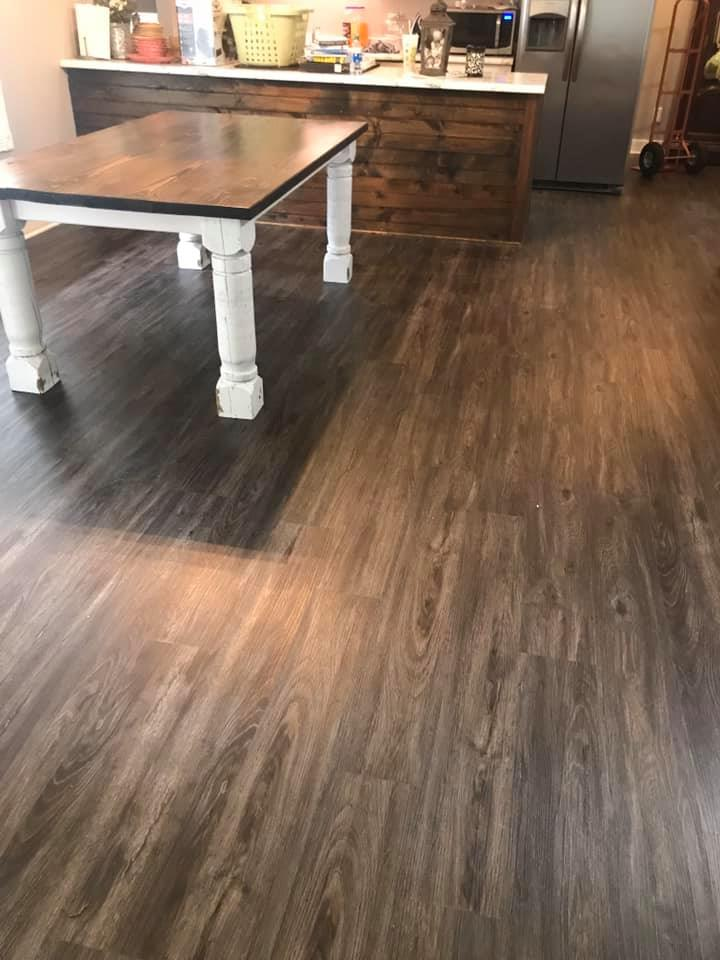 Waterproof kitchen flooring in Fort Payne, AL from R&D Flooring