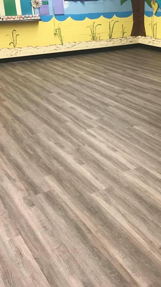 Commercial vinyl flooring in Sylvania, AL from R&D Flooring
