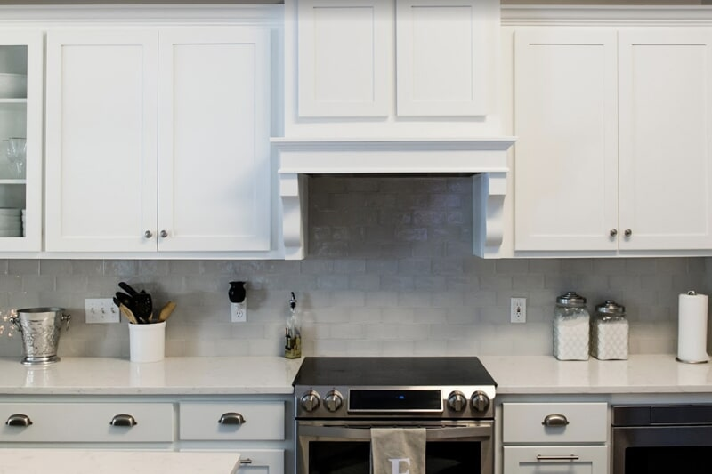 White cabinetry in Tallahassee, FL from Luke Van Camp's Floors & More