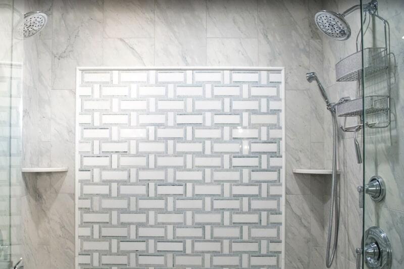 Inlay tile design in Crawfordville, FL from Luke Van Camp's Floors & More