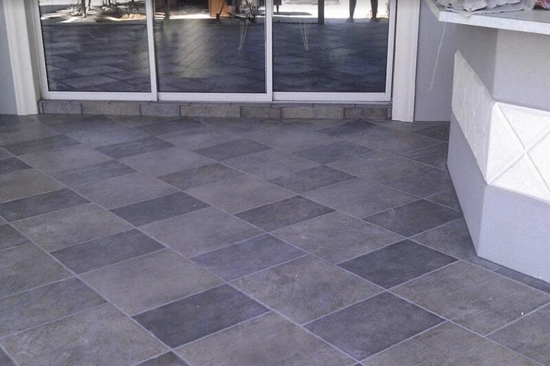 Outdoor tile flooring in Woodville, FL from Luke Van Camp's Floors & More