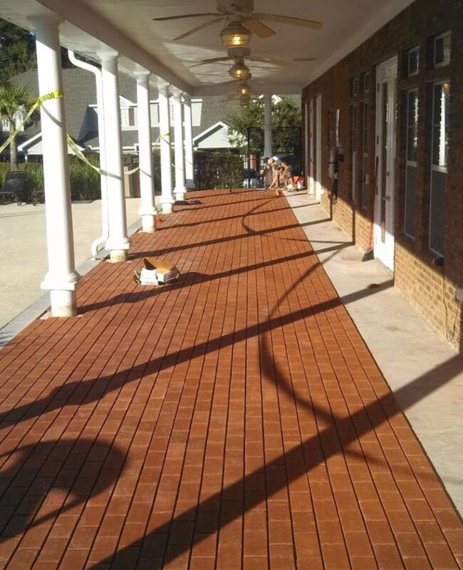 Outdoor flooring in Woodville, FL from Luke Van Camp's Floors & More