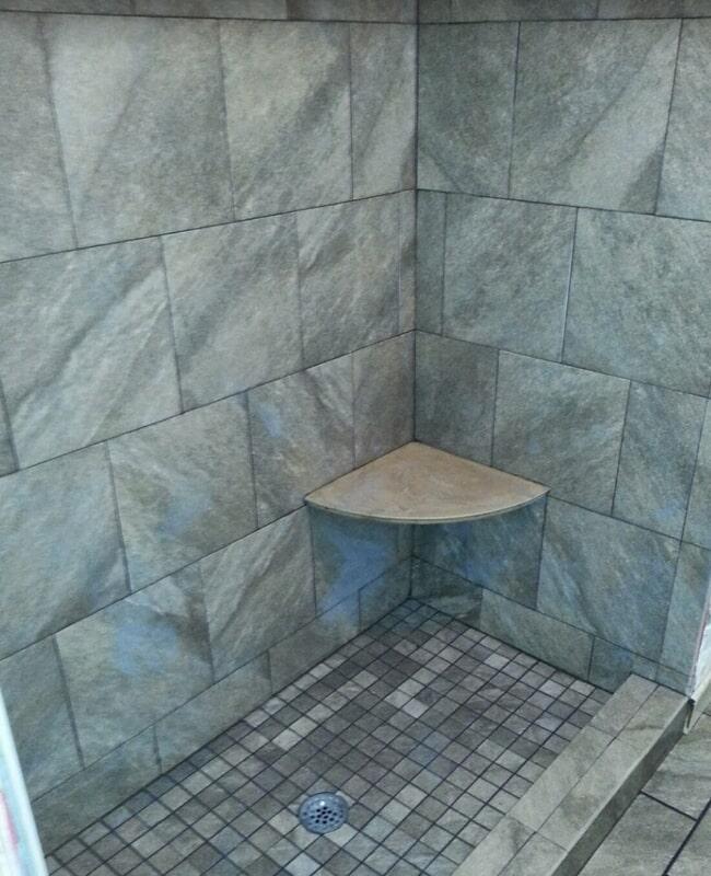 Shower remodel in Thomasville, GA from Luke Van Camp's Floors & More