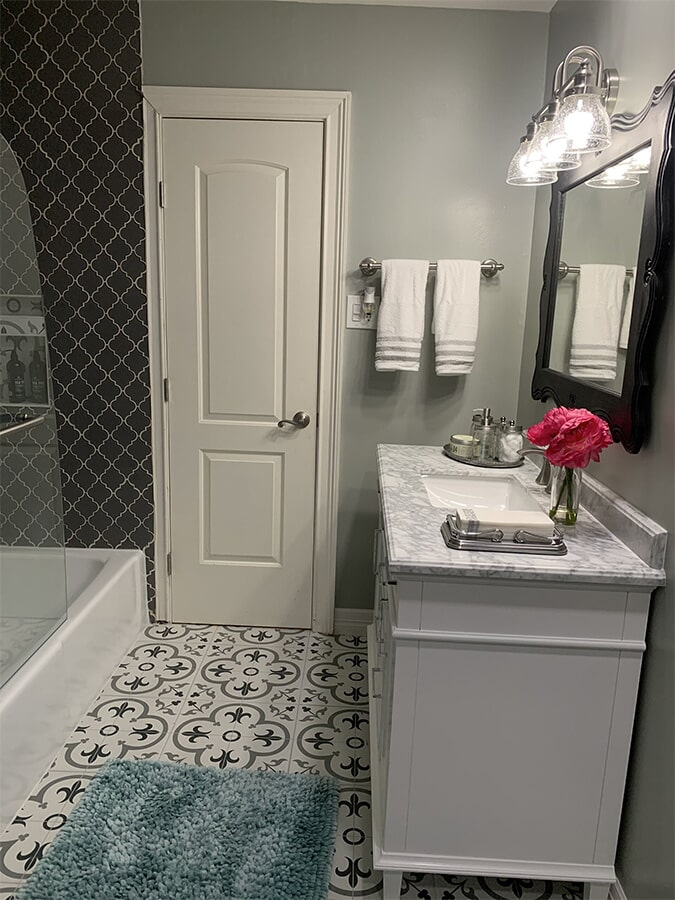 Bathroom renovations from Houston Floor Installation Services in Conroe, TX