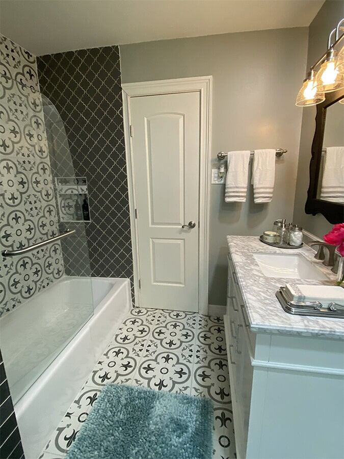 Bathroom renovations from Houston Floor Installation Services in Spring, TX